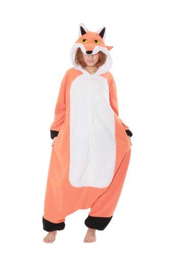 Male Red Fox Costume (Red Fox Kigurumi - Adult Costume)