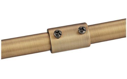 Monte Carlo MC80IB Down rod Extension and Coupler, Iberian Bronze Color: Iberian Bronze Model: MC80IB Tools & Home Improvement