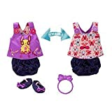Baby Alive Sweet and Sassy Reversible Bloomer Set (Medium): fits Whoopsie Doo, Changing Time Baby, Baby's New Teeth, Better Now Baby, Wets and Wiggles, and Baby All Gone