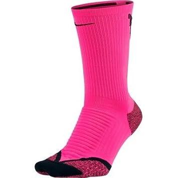 Nike U NK ELT Cush Crew Calcetines, Hombre, Rosa (Hyper Pink Black), 4-5.5: Amazon.es: Deportes y aire libre