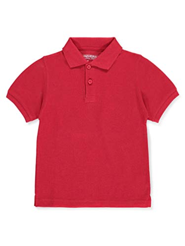 Universal Toddler Unisex S/S Pique Polo - red, 4t