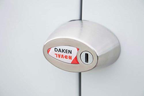 Daken NOVAL Cerradura antirrobo Simple para veh/ículos utilitarios