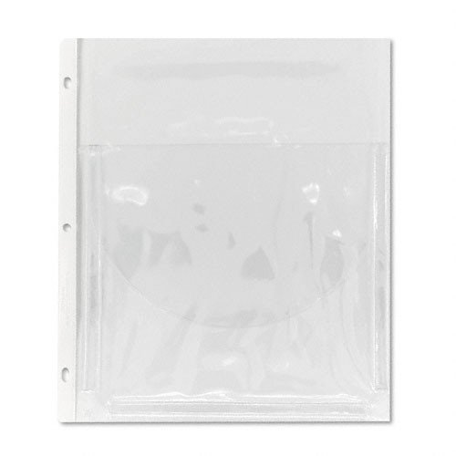 C-line Super Capacity Sheet Protector with Tuck-in Flap - 200 Sheet Capacity - Letter 8.50quot; x 11quot; - Vinyl - 10 / Pack - Clear (Capacity Super Sheet Protector)