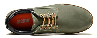 d2ca8bdce66b Jacata Men s Low Cut Work Casual Nubuck Boot with Scothguard 3m Protector  100% Water Resistant