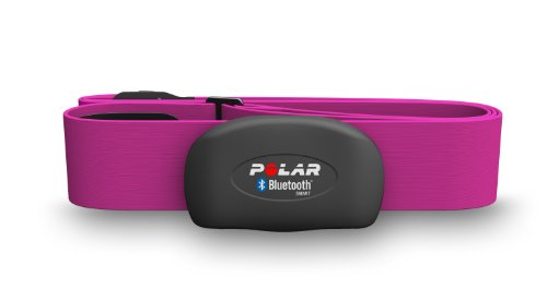 Polar H7 Bluetooth Heart Rate Sensor & Fitness Tracker (Pink, Medium/XX-Large) (Heart Rate Sensor For Iphone compare prices)