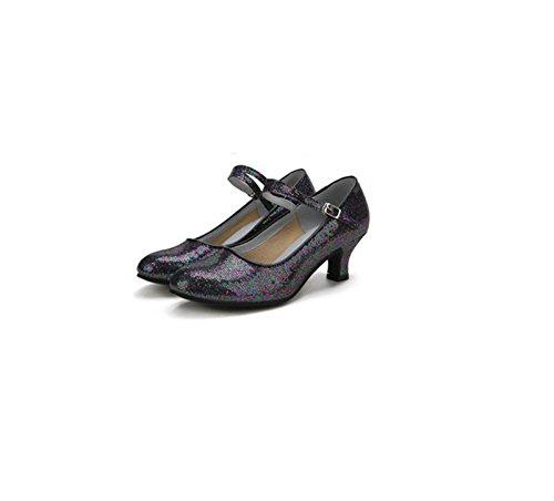 ShoesLatin Ballroom Ruanlei Black dance Dance Shoes Latin Prom Shoes Sqdq4wp
