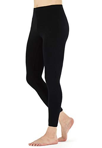 FALARY Leggings Damen Lang Knöchellang Blickdichte Leggins Yoga Tights Viele Größen