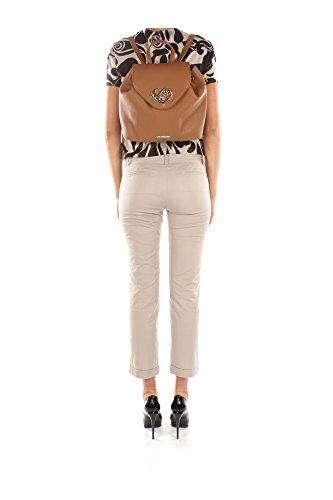 Love Moschino Borsa Grain Pu donna, accessori: borsa a mano, beige