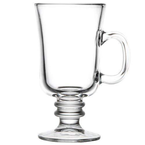 Irish Coffee Original Mug Footed Clear 8 OZ Set of 6