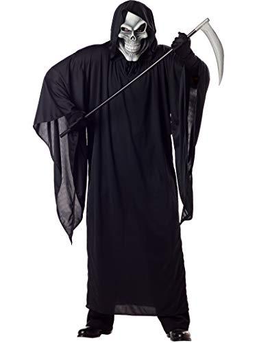 California Costumes Women's Grim Reaper Costume,Black,P ()