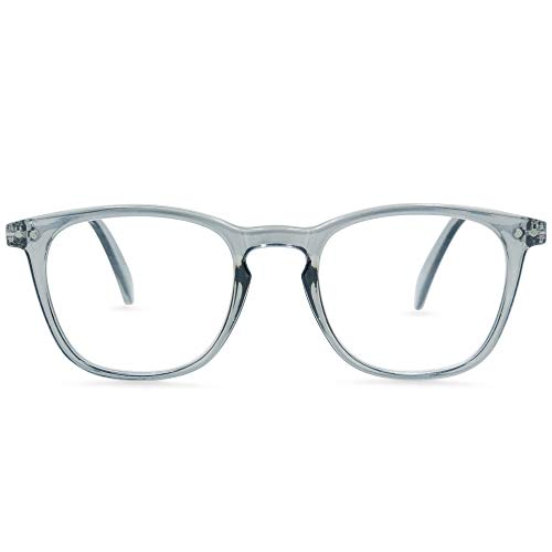 In Style Eyes Mystic Readers Super Comfortable Reading Glasses Grey +1.75 (Wayfer)