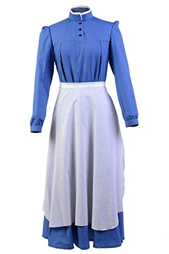 Howl's Moving Castle Sophie Cosplay Dress Costume Outfit