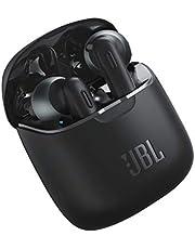 JBL Tune 220 TWS Lifestyle Bluetooth koptelefoon - Draadloze sport-oortelefoon voor maximaal 3 uur muziekgenot met slechts één batterij opladen - incl. oplaadcase