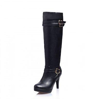 RTRY Women'S Boots Spring Fall Winter Platform Comfort Novelty Patent Leather Leatherette Wedding Office &Amp; Career Dress Casual Party &Amp; Evening US4.5 / EU36 / UK3.5 Big Kids J69jmK