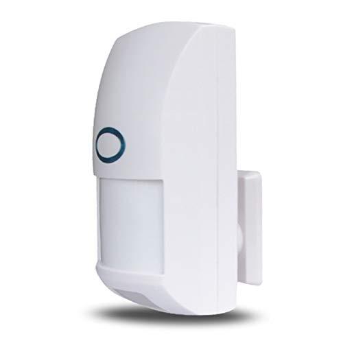 (Smartlove1P CT60-433 Wireless Anti-pet Detector Infrared Probe Human Body Sensor Pet Immune PIR Detector for Alarm Security System)