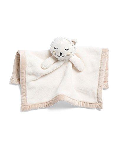 Ivory Kitty - Halo Dolls Kitty Plush Lovey Security Blanket - Ivory