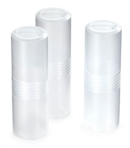 rose plastic GewindePack Versandrollen 03/003 Uni Set 3-teilig (Ø 80 x 320 mm) PP transparent