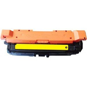 Compatible Yellow Toner Cartridge for use in Hewlett Packard (HP) CP4025/4525 Color Laserjet. Replaces Part # CE262A
