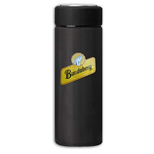 BXWDQI Bundaberg Rum Distressed Grinding Durable Insulating Cup For Mens&womens One Size Black
