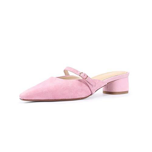 AdeeSu Rose EU Rose Femme Sandales 36 SDC06079 Compensées 5 fw7fq4r