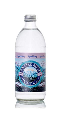 Castle Rock Water Sparkling Spring, 16.9 Fluid Ounce (Pack of 24)