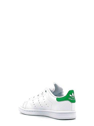 Baskets Footwear C Blanc Enfant Mixte White adidas Stan Green Basses Smith Footwear White Eqw8t