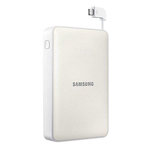 Samsung- externes Akkupack EB-PN915BWE mit integriertem Micro-USB-Ladekabel 11.300 mAh, Weiss