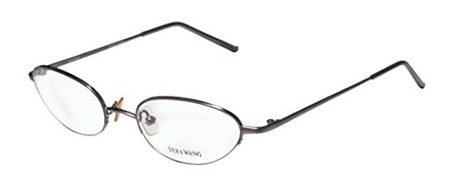 vera-wang-v06-womens-ladies-optical-sleek-designer-half-rim-eyeglasses-eyewear-48-18-130-lilac