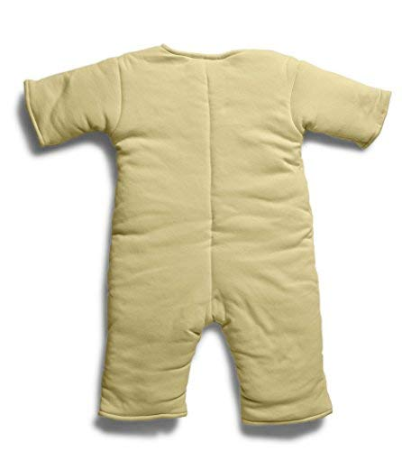 Baby Merlin's Magic Sleepsuit – Swaddle Transition Product – Cotton – Yellow – 3-6 months
