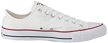 Converse Unisex Chuck Taylor All Star Low Top Optical White Sneakers - 12.5 B(m) Us Women 10.5 D(m) Us Men 7