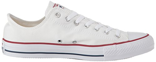 de Chuck All Deporte Zapatillas Las White Optical de Marina Conversar M9697 Taylor Star Ox Blanco UB54qwvxn