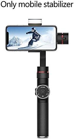 Estabilizador portátil V5 Deportes Teléfono móvil Estabilizador de grabación en Vivo Cámara Estabilizador del teléfono móvil antivibración: Amazon.es: Electrónica