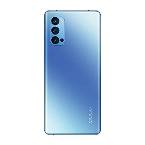 OPPO Reno4 Pro 5G Dual-SIM 256GB (GSM Only   No CDMA) Factory Unlocked Android Smartphone (Galactic Blue) - International Version