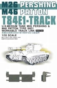 - T-84E1 Track Links Rubber Type 1-35 AFV Club