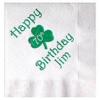 White 2-Ply Luncheon Napkins - 500 napkins - Custom Printed by PLX Industries