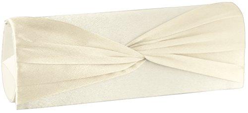Clutch 'Shirley' JosyJoe Blanco Crema el noche color Bolso de Cema Blanco P5qnTxqF