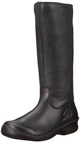 Black Boots Bern - KEEN Women's Baby Bern ii Tall-w Rain Boot, Black, 6 M US