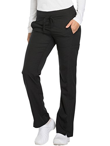 - Women's Dynamix Mid Rise Straight Leg Drawstring Scrub Pants