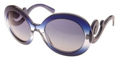 Prada Sunglasses SPR 27N BLUE EAB-8Z1 - Sunglasses Prada 27ns