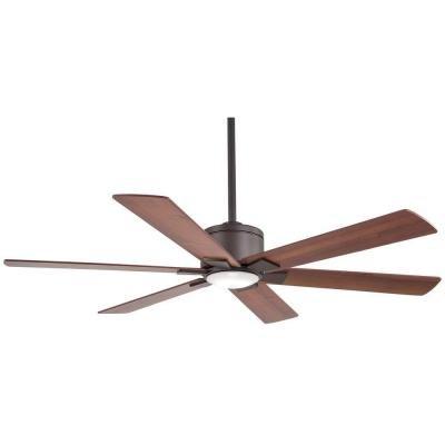 Renwick 54 in. LED Oil Rubbed Bronze Ceiling Fan