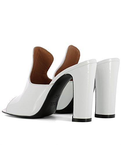 Talons Femme Cuir TEXAS Chaussures PX70VERNICEBIANCO À Blanc PARIS xB70wHTqx
