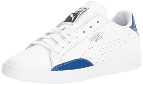 Puma Womens Basic Basic Wns Fashion Sneaker Puma Bianco-blu Vero