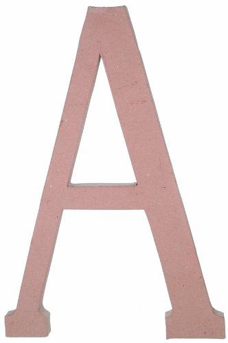 Garden Paper Mache (Paper Mache Letter - A - 23.5 inches)
