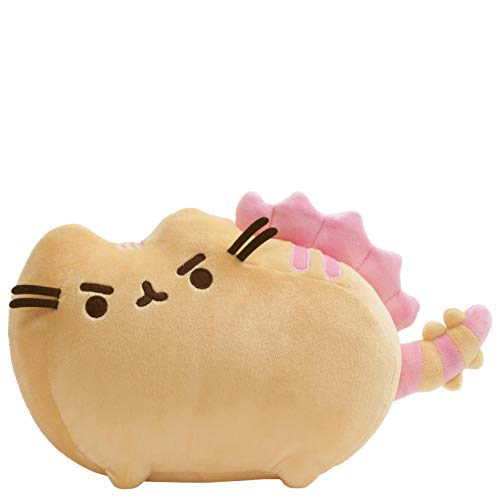 "GUND Pusheen Pusheenosaurus Plush Stuffed Dinosaur Cat, 13"", Multicolor from GUND"