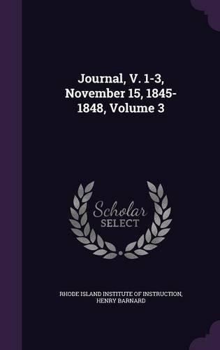 Download Journal, V. 1-3, November 15, 1845-1848, Volume 3 Text fb2 book