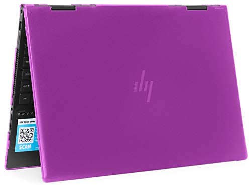 """mCover Hard Shell Case for 2019 15.6"""" HP Envy X360"""