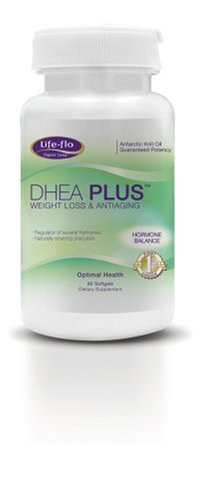 Life-Flo DHEA, 50 mg capsules, 120-Count Bottle
