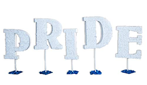TCDesignerProducts Pride Letters Parade Float Kit, 51 Inch to 63 Inch High Letters, Pride Parade Float Decorating Kit