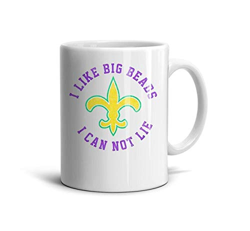 GholoMez 1 Pack Home Male Mardi Gras Costume Attire Ideas 11 Ounces/350ML Coffee Mugs Home Cute Funny Special Day Gift Ceramic Mug Drink Cup for Women ()