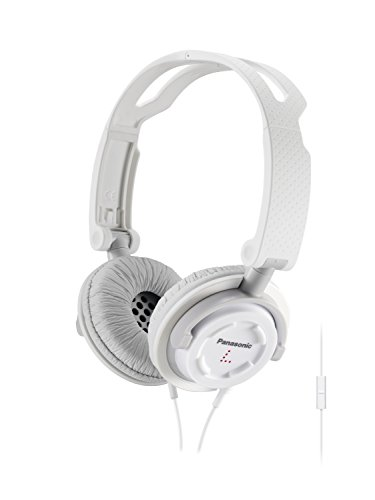 Ipod Earbud Panasonic (Panasonic FOLDZ On-Ear Stereo Headphones with Mic/Controller RP-DJS150M-W (White) Integrated)